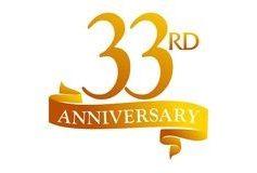 33rd Logo